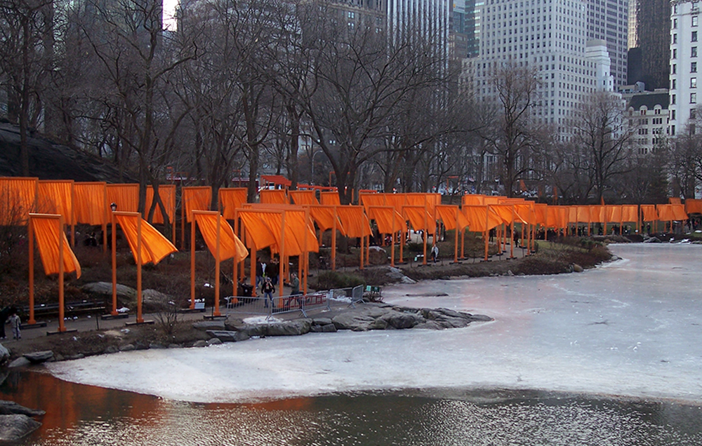 Christo The Gates Central Park New York