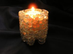 votive candle art